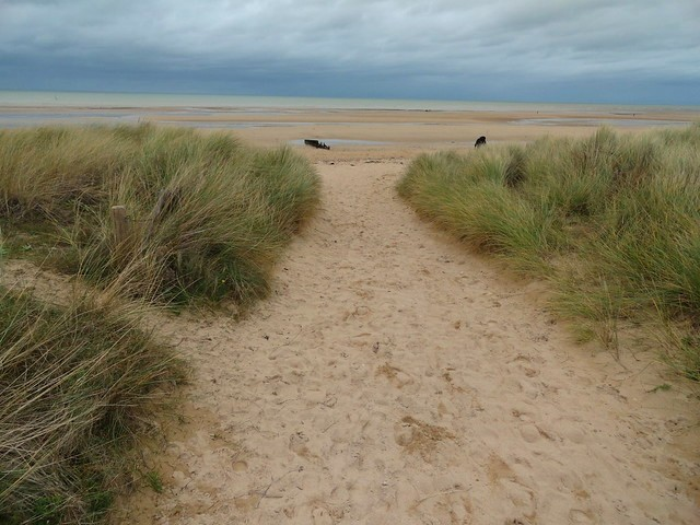 Visiting Juno Beach, Calvados, Basse-Normandie, France