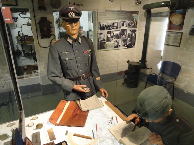 Visiting Le Grand Bunker, Ouistreham, Calvados, Basse-Normandie, France