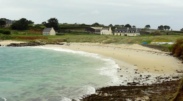 Beach, Ile de Batz, Finistère, Bretagne, France