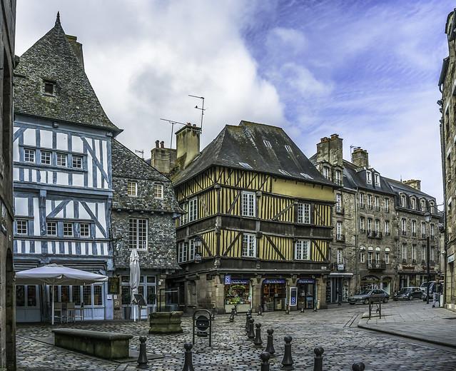 Dinan, Ille-et-Vilaine, Bretagne, France