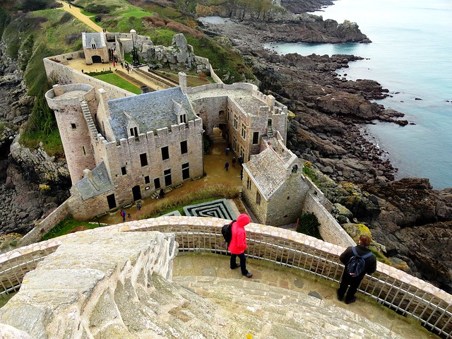 Fort La Latte, naer Cap Fréhel, Côtes-d'Armor, Bretagne, France