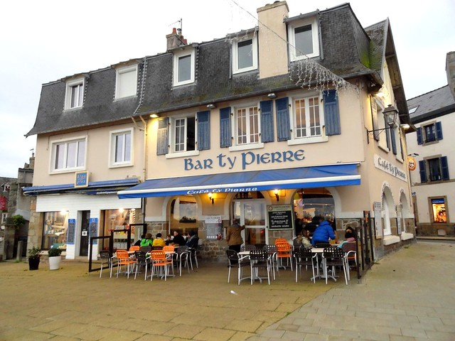 Cafe Ty Pierre, Roscoff, Finistère, Bretagne, France