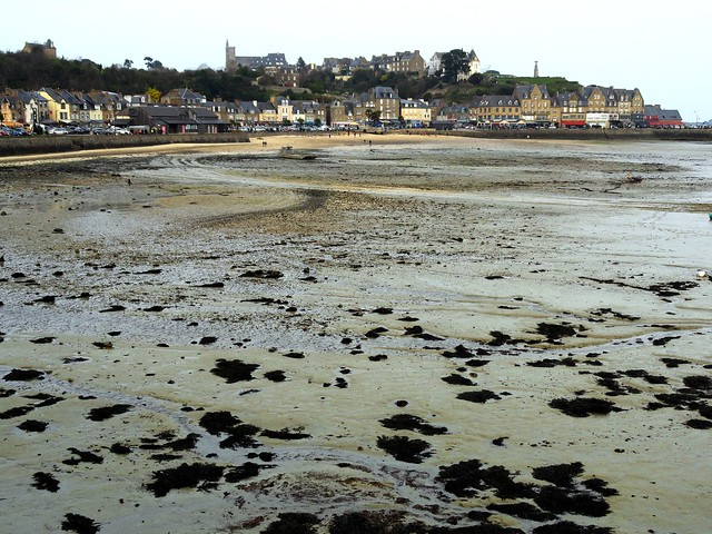 Cancale at Low Tide, Ille-et-Vilaine, Bretagne, France