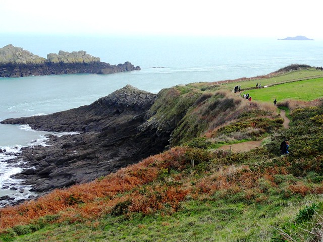 Coastal Path, La Pointe du Grouin, Cancale, Ille-et-Vilaine, Bretagne, France