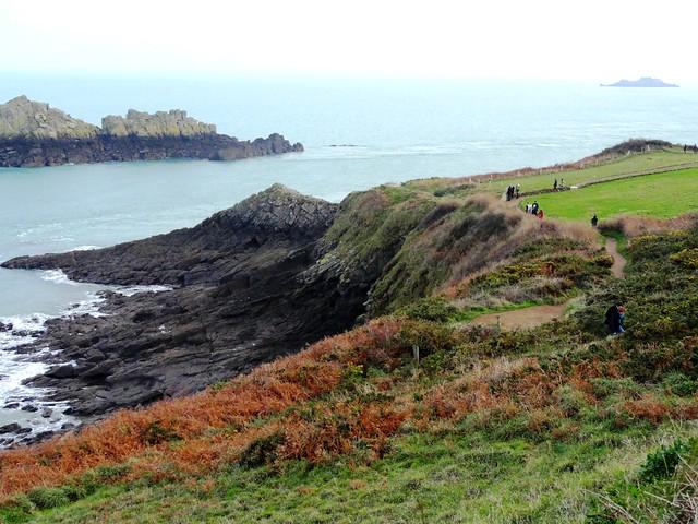 Coastal Path, La Pointe du Grouin, Cancale, Ille-et-Vilaine, Bretagne, France