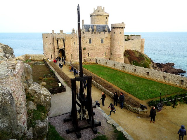 Fort La Latte Entrance, Côtes-d'Armor, Bretagne, France