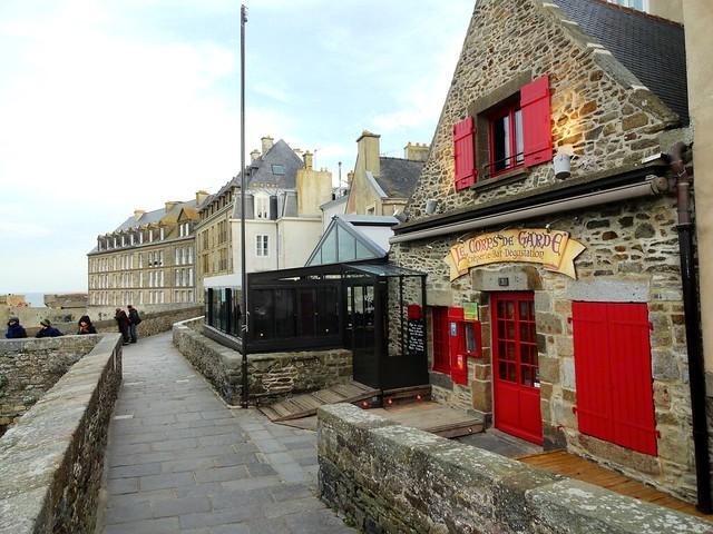 Les Remparts, Saint-Malo, Ille-et-Vilaine, Bretagne, France