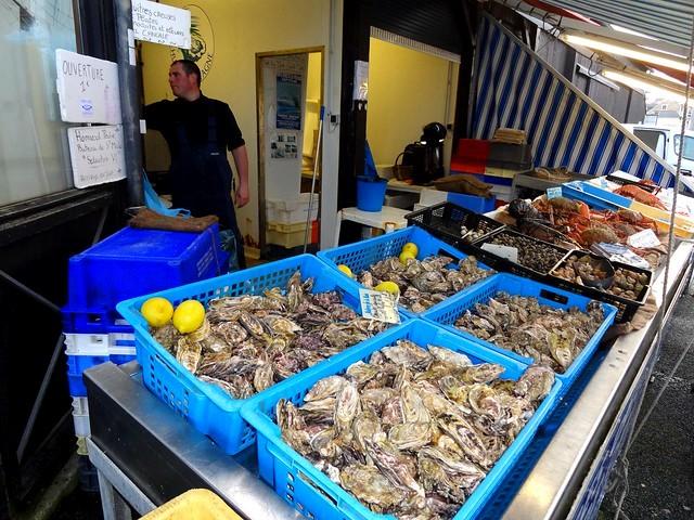 Huîtres, Cancale, Ille-et-Vilaine, Bretagne, France