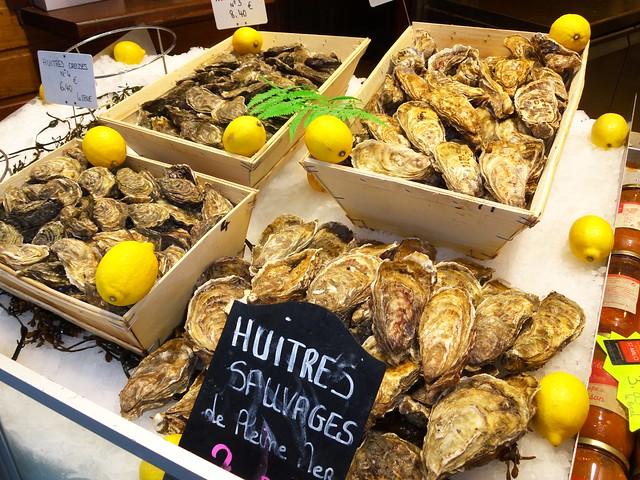 Huitres, Saint-Malo, Ille-et-Vilaine, Bretagne, France
