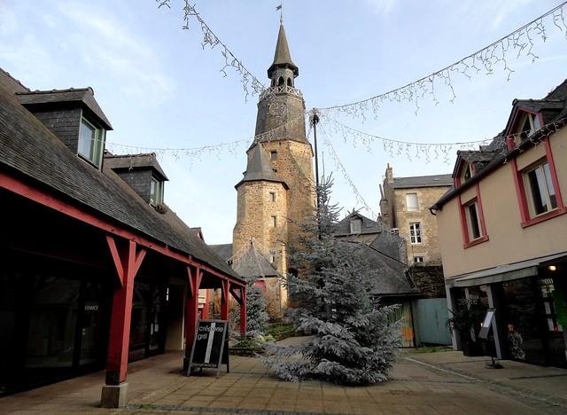 La Tour de l'Horloge, Dinan, Côtes-d'Armor, Bretagne, France