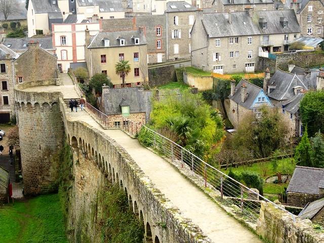 Les Remparts, Dinan, Côtes-d'Armor, Bretagne, France