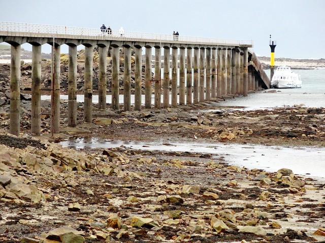 Quai Neuf at Low Tide, Roscoff, Finistère, Bretagne, France
