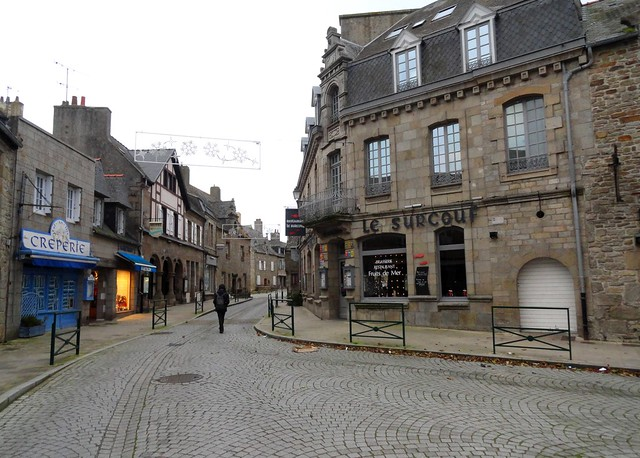Rue Amiral Réveillère, Roscoff, Finistère, Bretagne, France