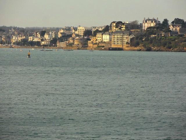 View of Dinard from Les Remparts de Saint-Malo, Ille-et-Vilaine, Bretagne, France