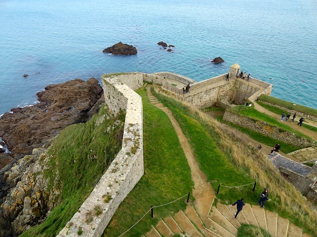 Visiting Fort La Latte, Côtes-d'Armor, Bretagne, France