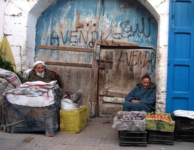 Essaouira Vendors, Morocco