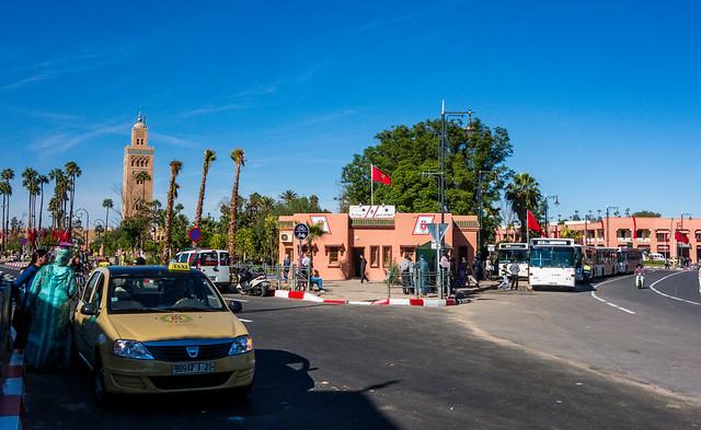 Near Koutoubia Mosque, Marrakech, Morocco