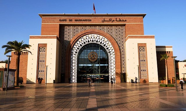 Railway Station, Marrakech, Morocco