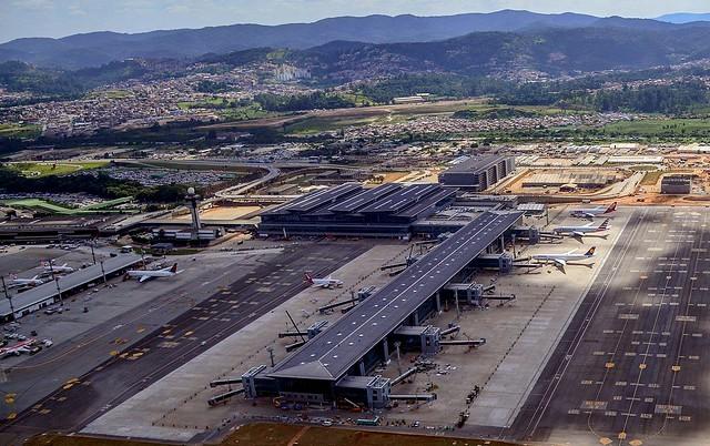 Terminal 3, Guarulhos International Airport, São Paulo, Brazil