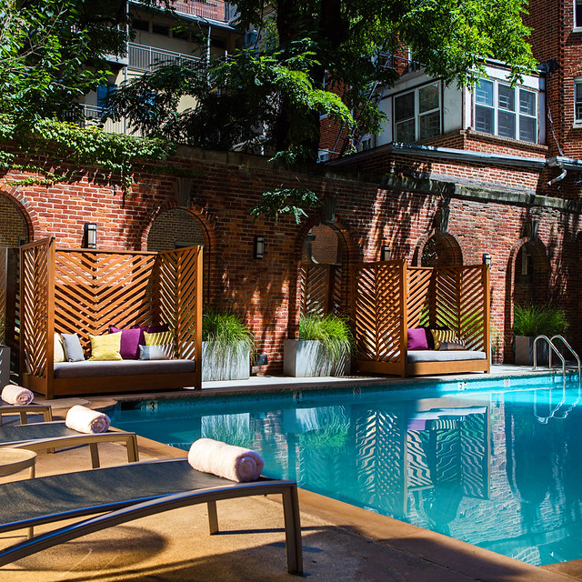 Pool, Hotel Royal Sonesta Washington DC, Dupont Circle, Washington, D.C.