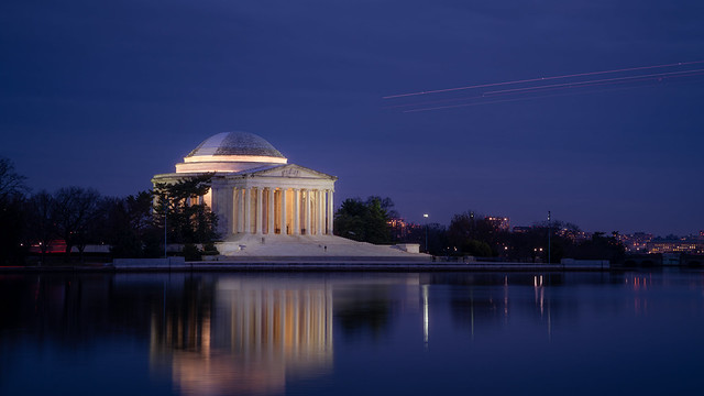 Jefferson Memorial at Dusk, Washington, D.C.