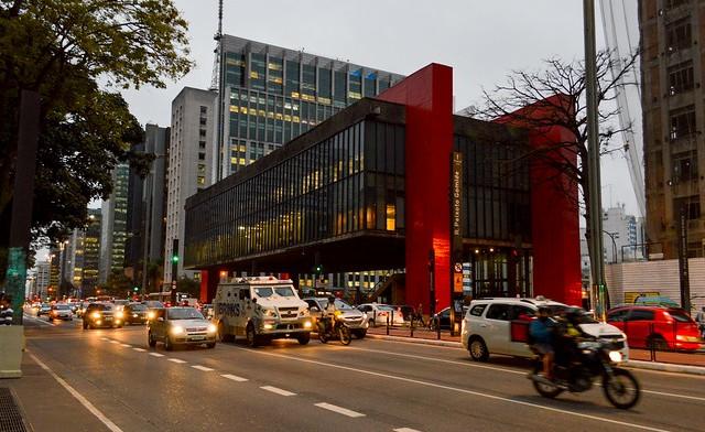 MASP, Museu de Arte de São Paulo, Avenida Paulista, São Paulo, Brazil