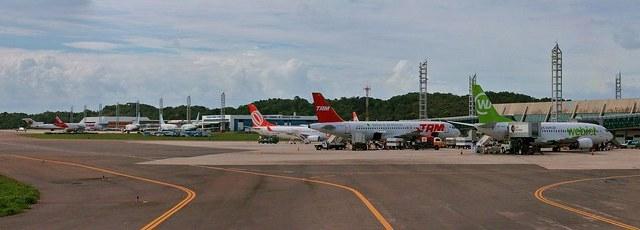 Salvador Bahia Airport, Salvador da Bahía, Brazil