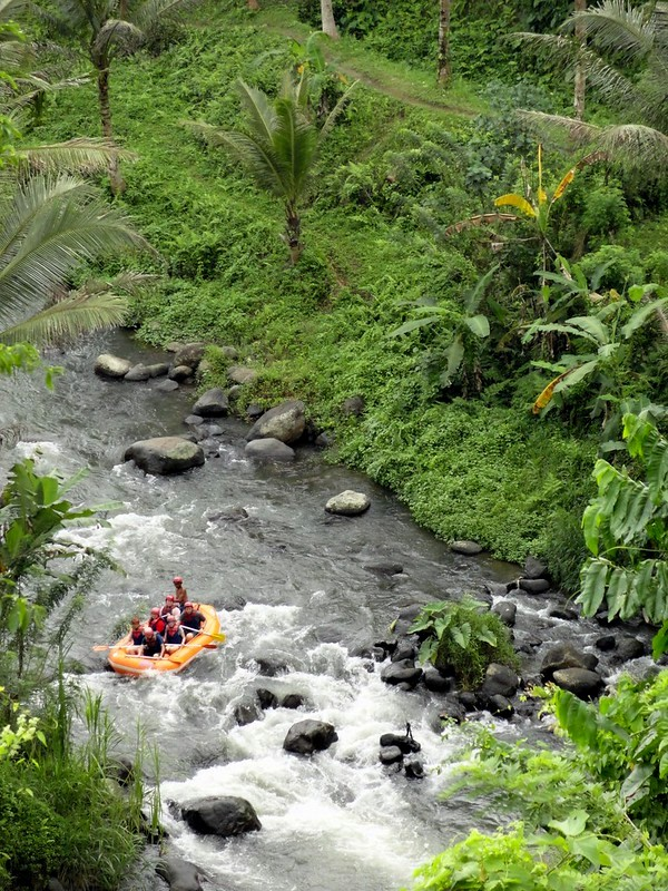 White Water Rafing on Ayung River near Ubud, Bali, Indonesia