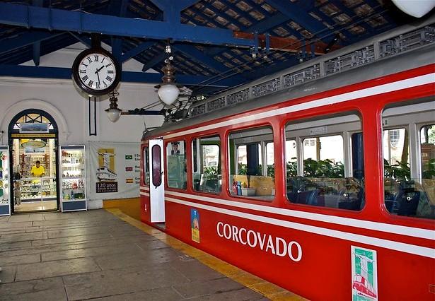 Estação Cosme Velho, Corcovado, Rio de Janeiro, Brazil