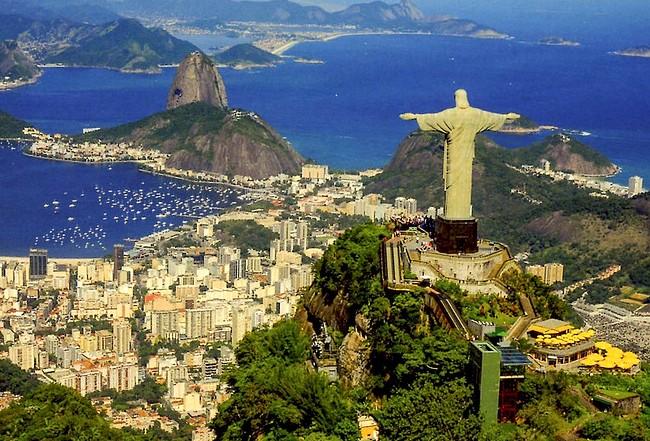 Corcovado and Rio de Janeiro, Brazil