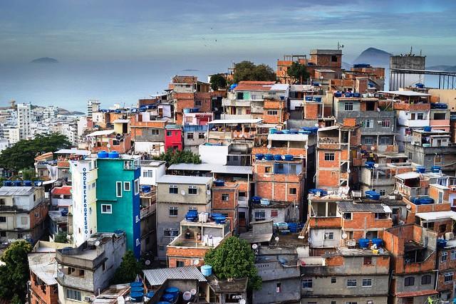 Favela Cantagalo, Rio de Janeiro, Brazil