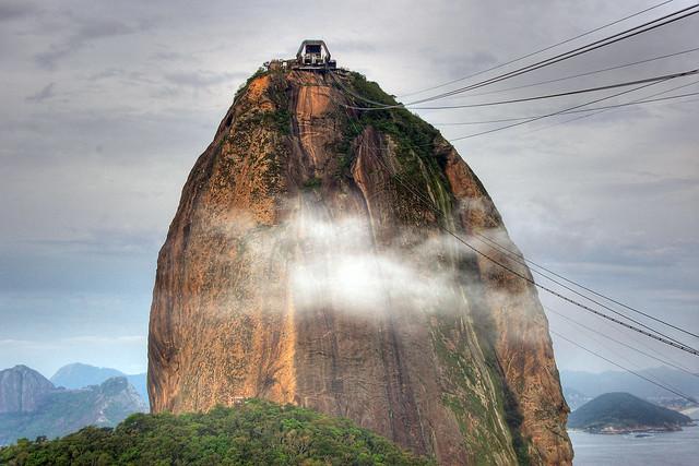 Going Up the Sugarloaf, Rio de Janeiro, Brazil