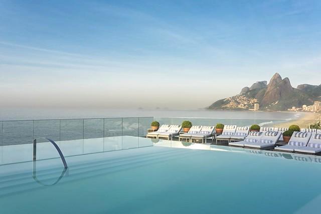 Ipanema from Hotel Fasano, Rio de Janeiro, Brazil