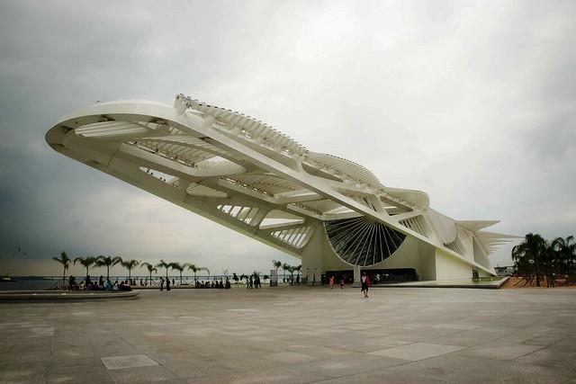 Museu do Amanhã (Museum of Tomorrow), Rio de Janeiro, Brazil