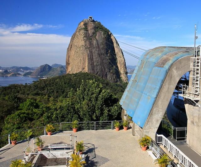 Pão de Açúcar from Morro da Urca, Rio de Janeiro, Brazil