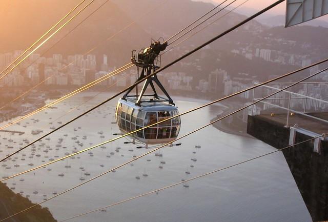 Sugarloaf Cable Car, Rio e Janeiro, Brazil