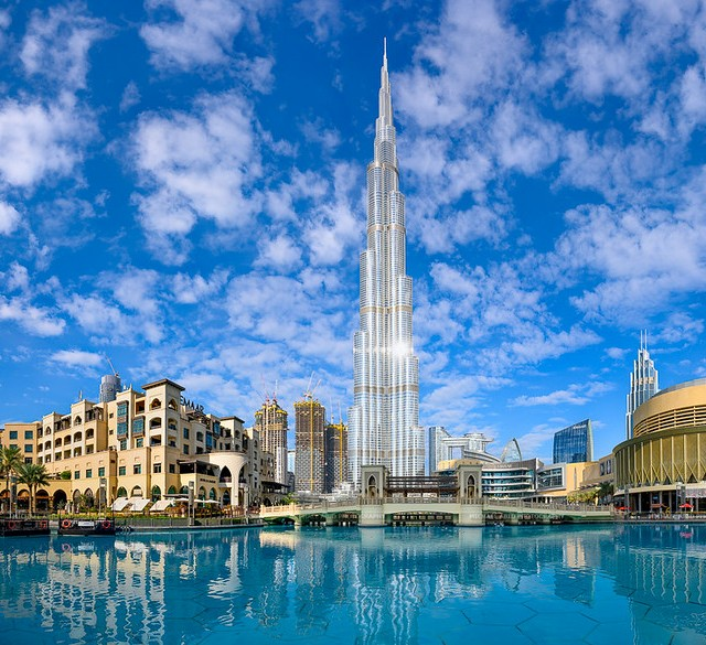 Burj Khalifa, Tallest Building in the World, Downtown Dubai, Dubai, UAE