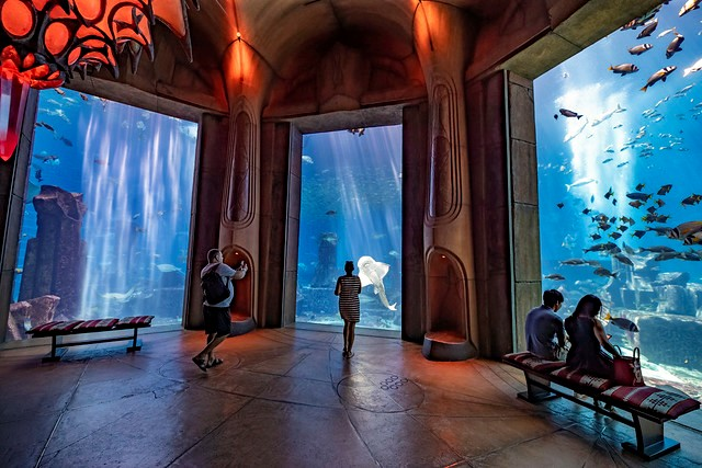 The Lost Chambers at The Atlantis, Palm Jumeirah, Dubai, UAE