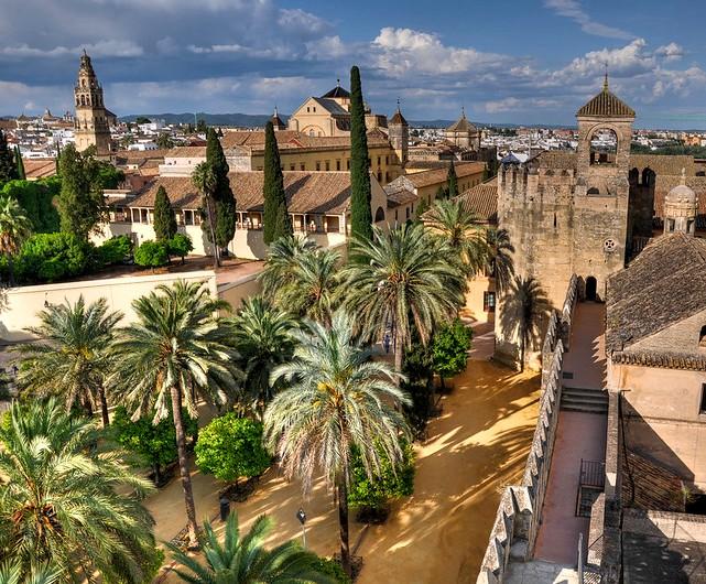 Alcázar de los Reyes Cristianos, Córdoba, Andalusia, Spain