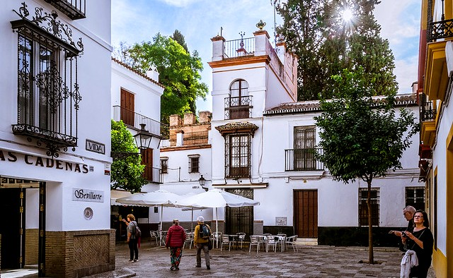 Barrio de Santa Cruz, Sevilla, Andalusia, Spain
