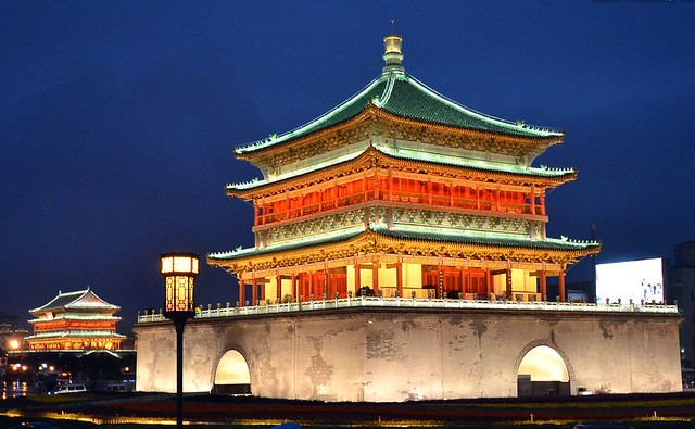 Bell Tower and Drum Tower, Xian, China