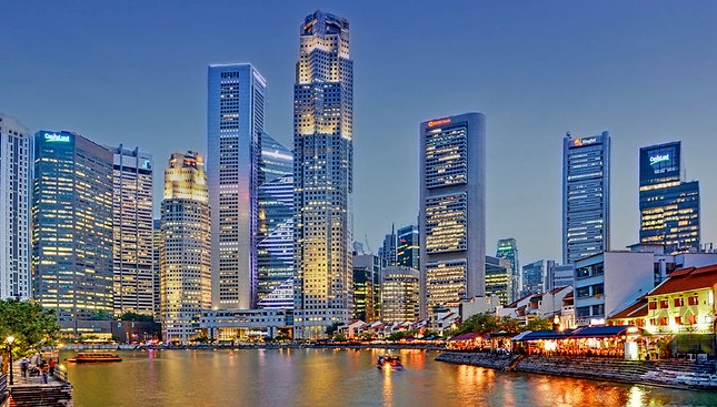 Boat Quay, the Singapore River and CBD, Singapore