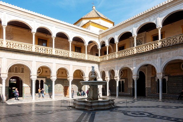 Casa de Pilatos, Sevilla, Andalusia, Spain