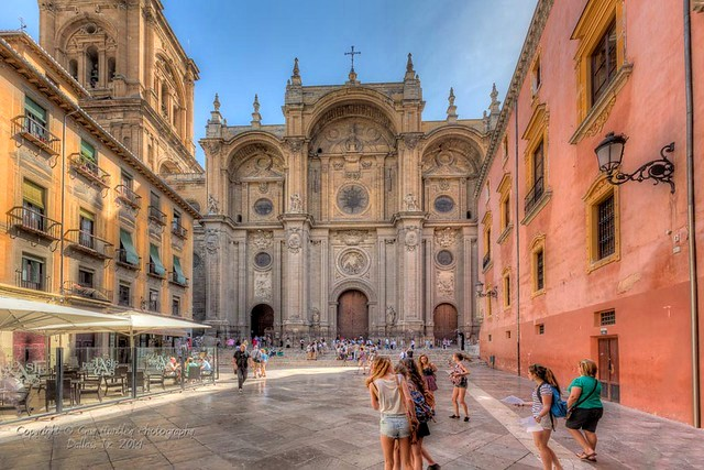 Cathedral, Granada, Andalusia, Spain