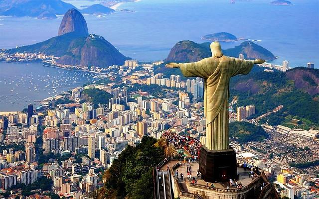 Christ the Redeemer Statue and Corcovado, Rio de Janeiro, Brazil