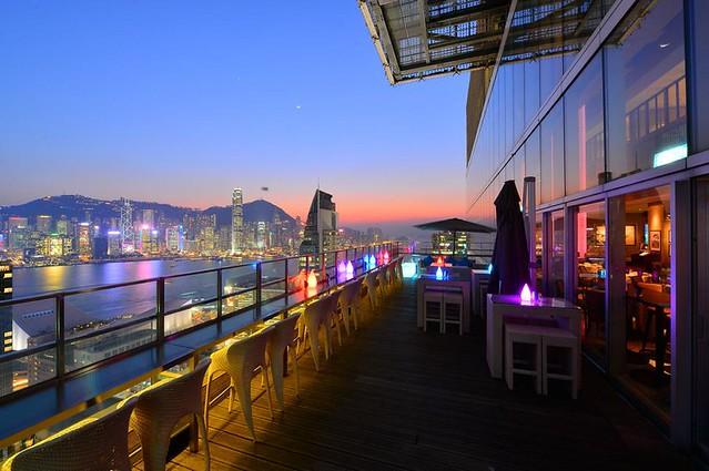 Eyebar Rooftop, Tsim Sha Tsui, Kowloon, Hong Kong, China