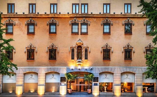Hotel Palacio de Santa Paula, Granada, Andalusia, Spain