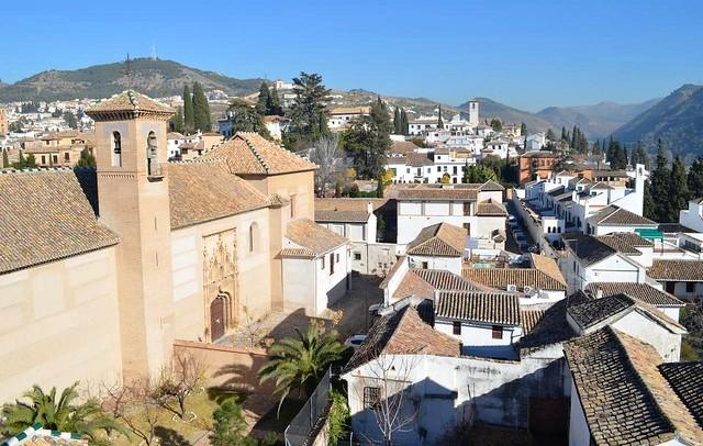 Hotel Santa Isabel La Real, Albaicín, Granada, Andalusia, Spain