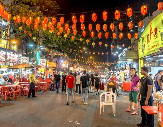 Jalan Alor, Bukit Bintang, Kuala Lumpur, Malaysia