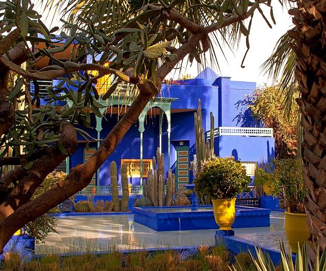 Jardin Majorelle, Guéliz, Marrakech, Morocco